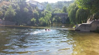 River swimming
